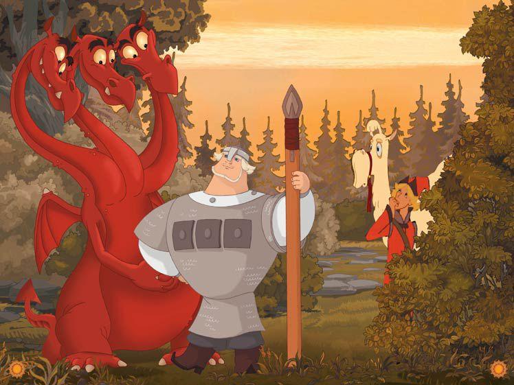 Змей Горыныч картинки для детей - прикольные и красивые 1
