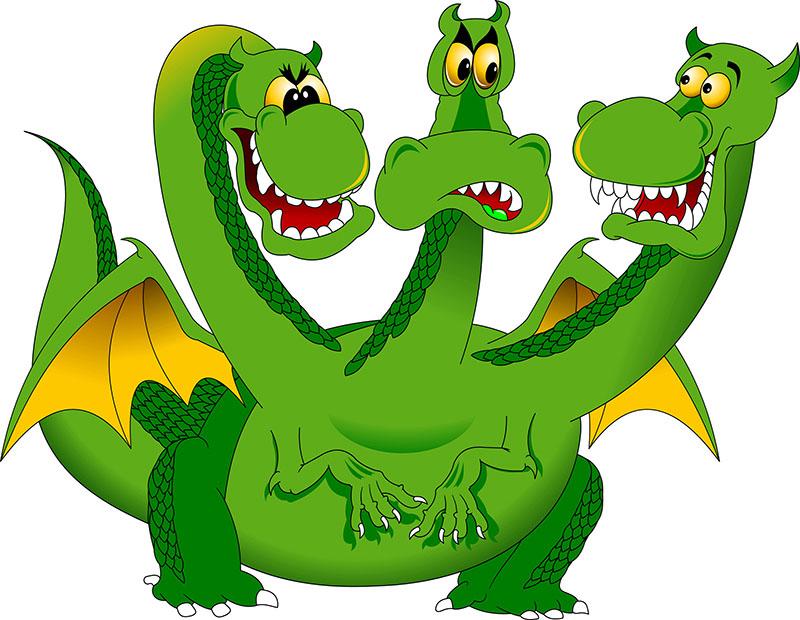 Змей Горыныч картинки для детей - прикольные и красивые 2