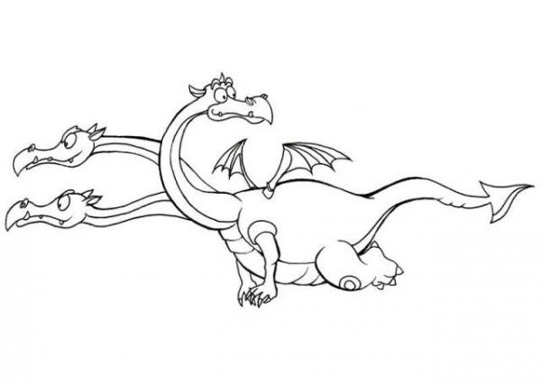 Змей Горыныч картинки для детей - прикольные и красивые 3