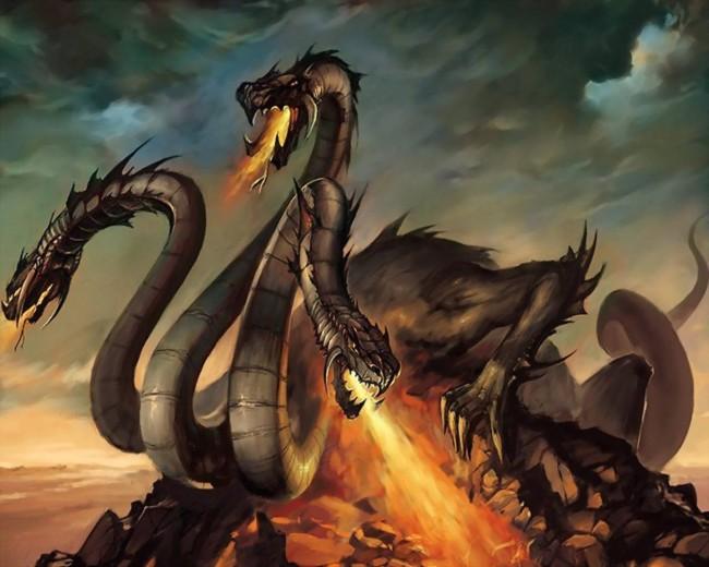 Змей Горыныч картинки для детей - прикольные и красивые 7