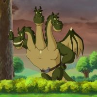 Змей Горыныч картинки для детей - прикольные и красивые 8