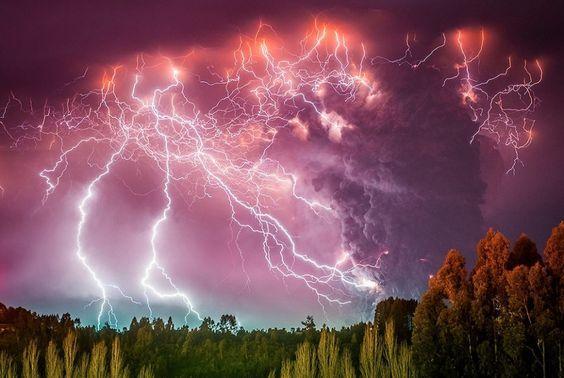 Извержение вулкана, землетрясения, лава - красивые снимки и фото 1