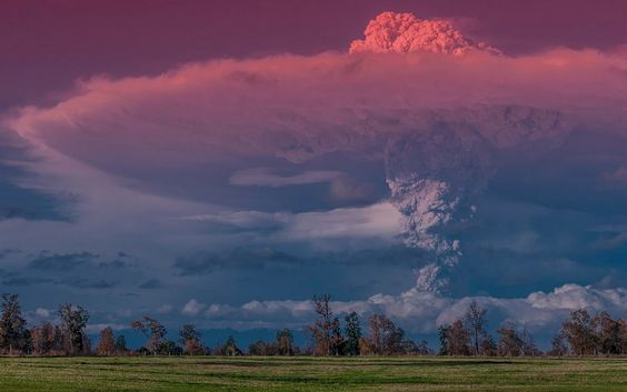 Извержение вулкана, землетрясения, лава - красивые снимки и фото 5