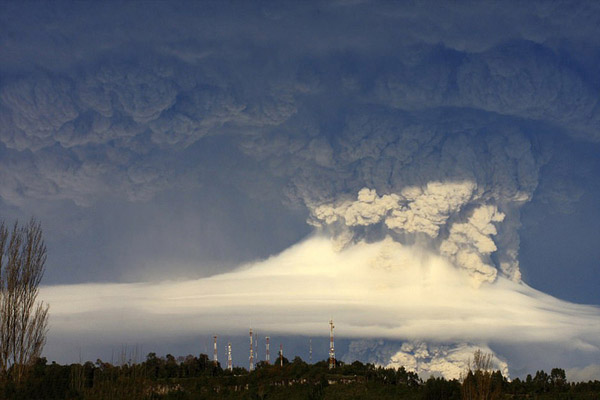 Извержение вулкана, землетрясения, лава - красивые снимки и фото 7