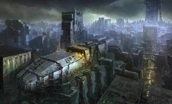 Картинки будущего города или город будущего - лучшие АРТы 13