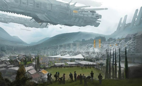 Картинки будущего города или город будущего - лучшие АРТы 2