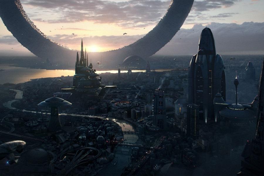 Картинки будущего города или город будущего - лучшие АРТы 3