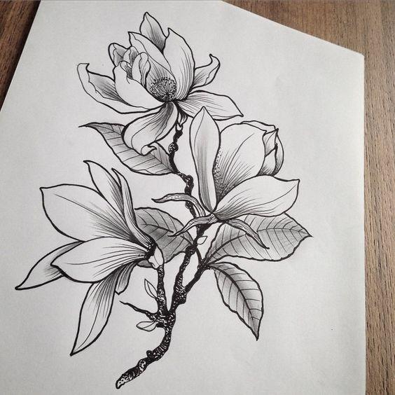 Картинки для срисовки цветы, цветочки - красивые и прикольные 10