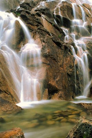 Картинки на телефон водопады и водопад - самые красивые 1