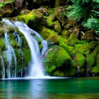 Картинки на телефон водопады и водопад - самые красивые 13