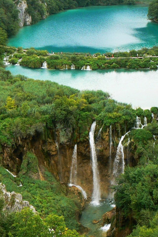 Картинки на телефон водопады и водопад - самые красивые 16