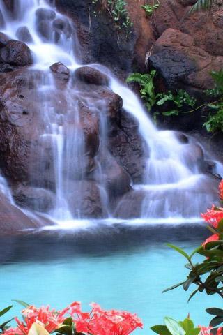 Картинки на телефон водопады и водопад - самые красивые 4