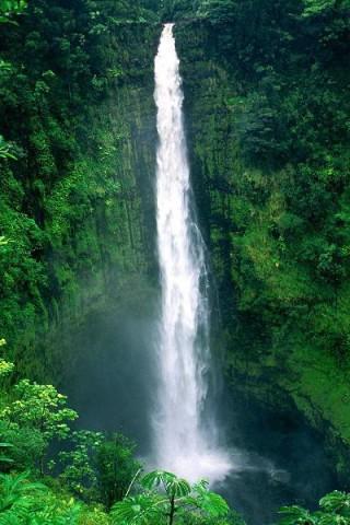 Картинки на телефон водопады и водопад - самые красивые 7