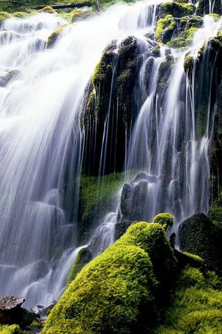 Картинки на телефон водопады и водопад - самые красивые 9