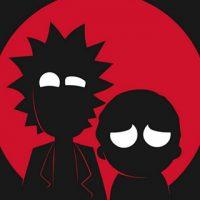 Классные и прикольные картинки Рик и Морти на телефон - подборка 2