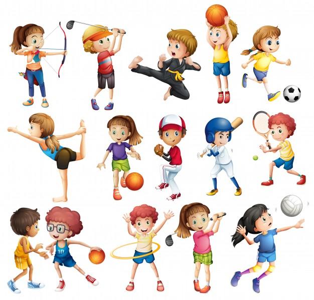 Красивые картинки для детей на тему Виды спорта - лучшая подборка 18