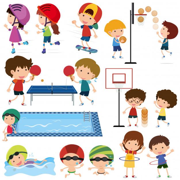 Красивые картинки для детей на тему Виды спорта - лучшая подборка 19