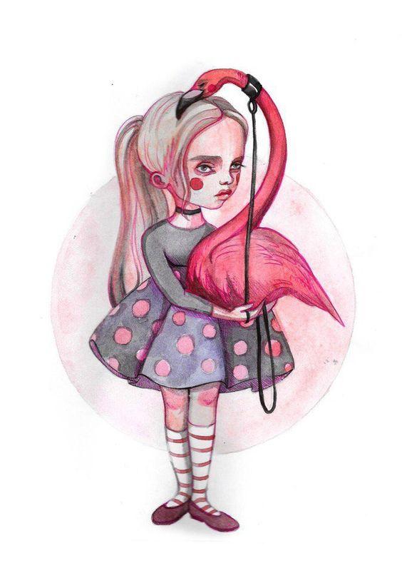 Красивые картинки для срисовки Алиса в Стране чудес - подборка 11