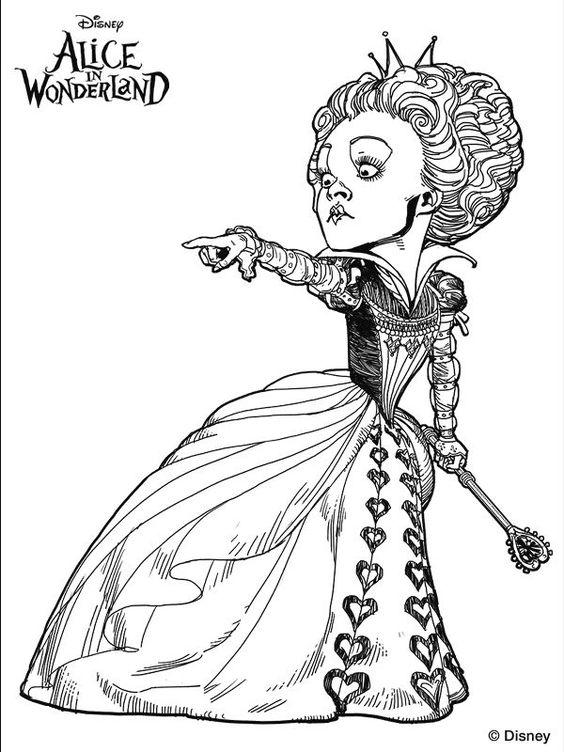 Красивые картинки для срисовки Алиса в Стране чудес - подборка 12