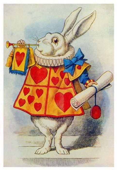 Красивые картинки для срисовки Алиса в Стране чудес - подборка 4