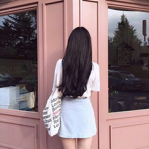 Красивые картинки на аву волосы со спины - лучшая сборка 13