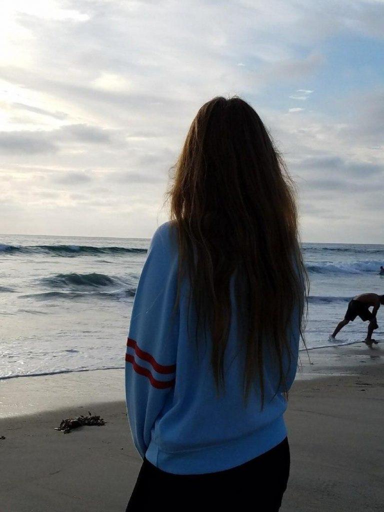 Красивые картинки на аву волосы со спины - лучшая сборка 2