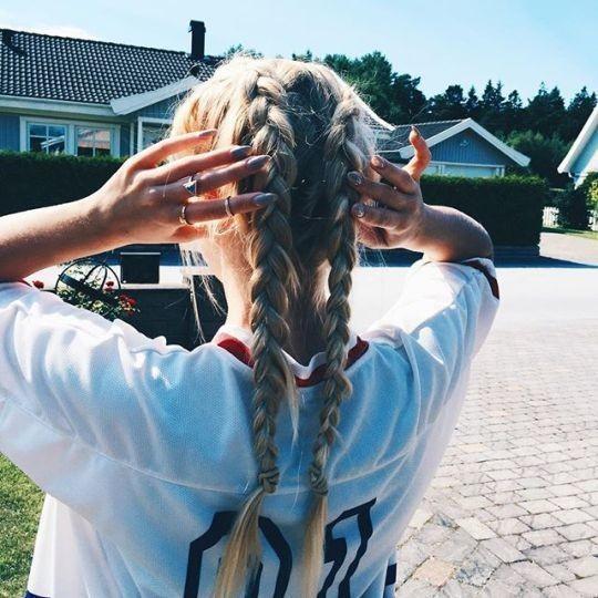 Красивые картинки на аву волосы со спины - лучшая сборка 6
