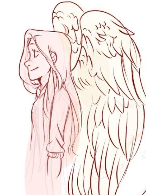 Красивые картинки на аву человек или ангел с крыльями - сборка 12