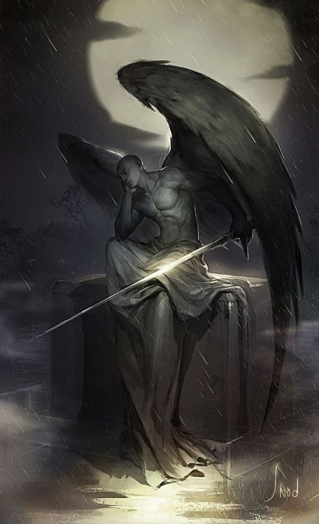 Красивые картинки на аву человек или ангел с крыльями - сборка 14
