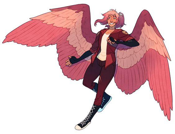 Красивые картинки на аву человек или ангел с крыльями - сборка 19