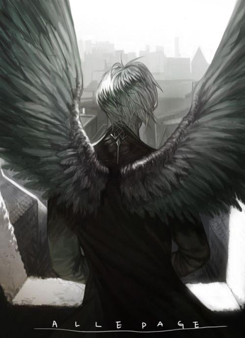 Красивые картинки на аву человек или ангел с крыльями - сборка 20