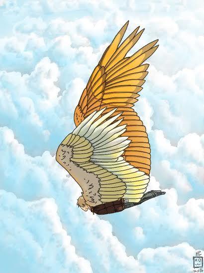 Красивые картинки на аву человек или ангел с крыльями - сборка 21