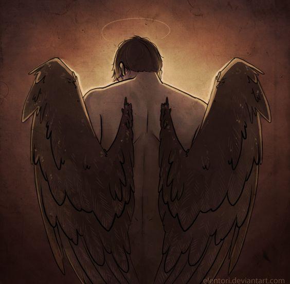 Красивые картинки на аву человек или ангел с крыльями - сборка 6