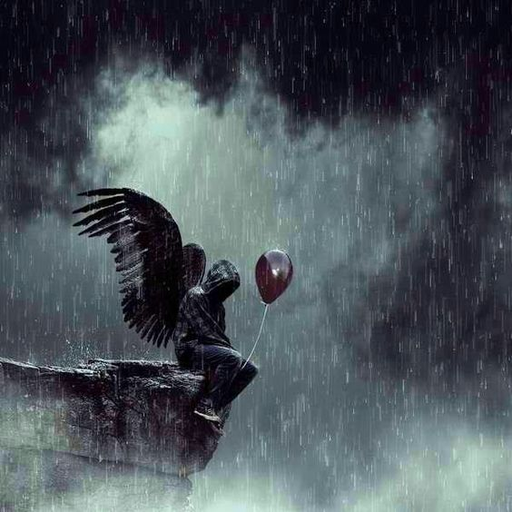 Красивые картинки на аву человек или ангел с крыльями - сборка 8
