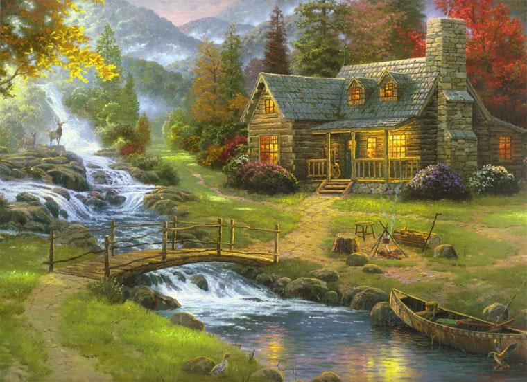 Красивые картинки реки для детей - увлекательная сборка 10