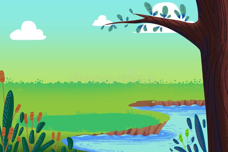 Красивые картинки реки для детей - увлекательная сборка 3