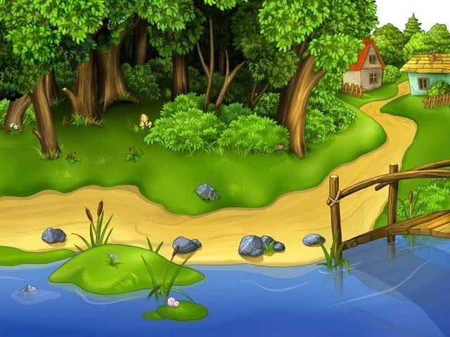Красивые картинки реки для детей - увлекательная сборка 4