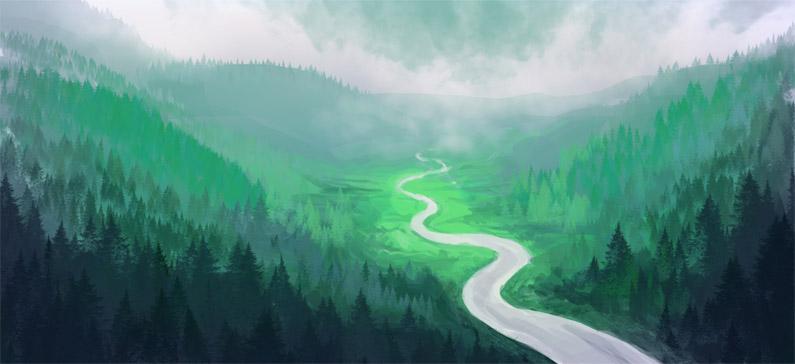 Красивые картинки реки для детей - увлекательная сборка 5