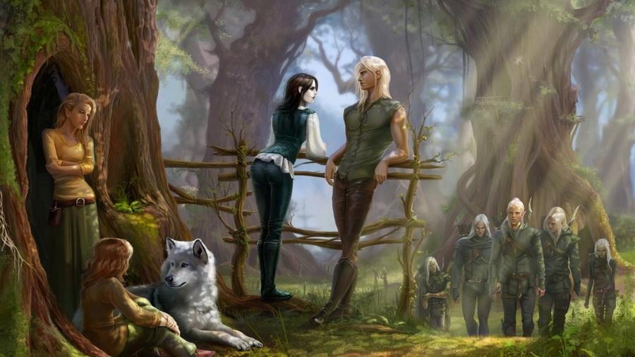 Красивые картинки эльфы и феи - загадочная коллекция 10
