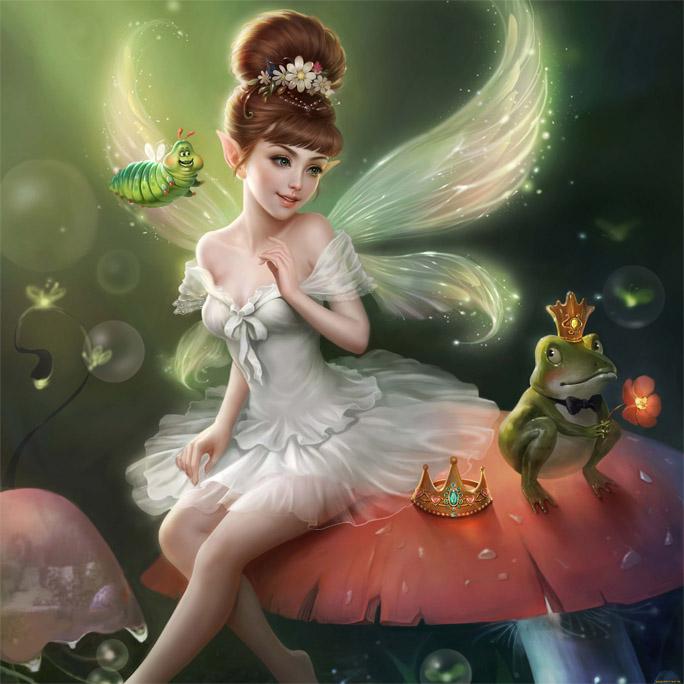 Красивые картинки эльфы и феи - загадочная коллекция 12