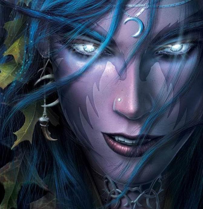 Красивые картинки эльфы и феи - загадочная коллекция 16