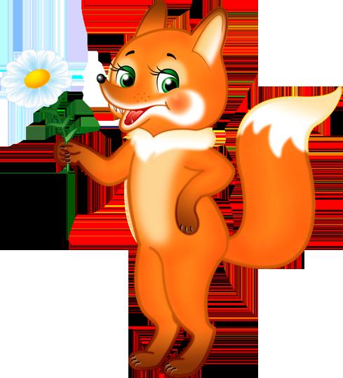 Лис и лиса картинки для детей - очень красивые и интересные 11