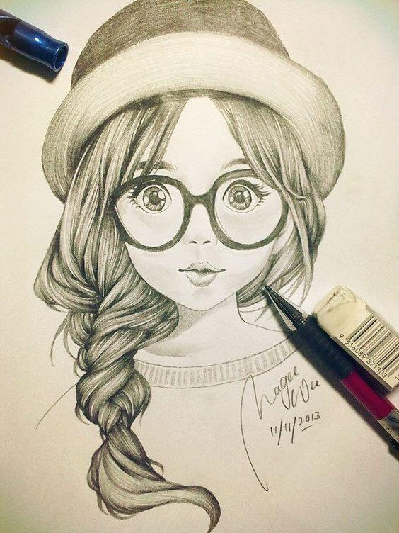 Очень красивые картинки для срисовки - подборка рисунков 14