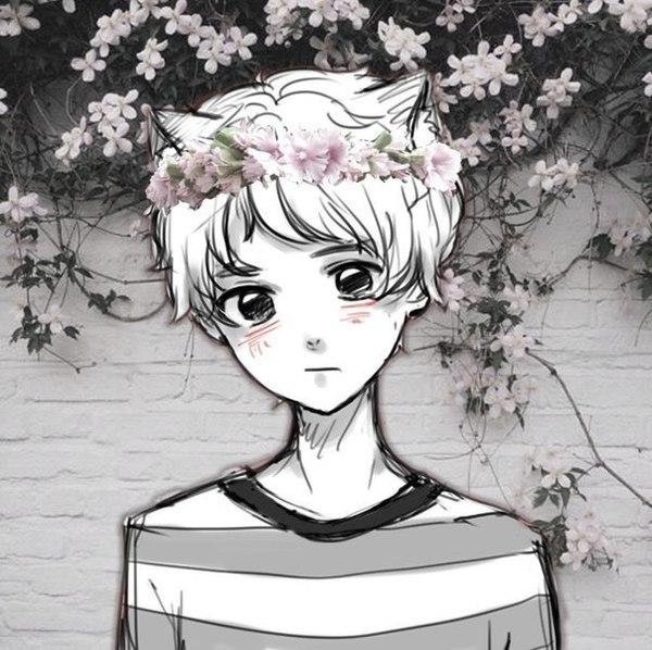 Прикольные аниме картинки на аву в ВКонтакте - для парней и девушек 10