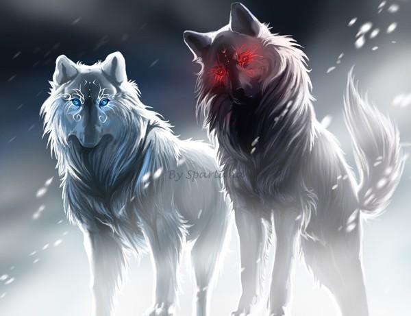 Прикольные и красивые арт картинки волка. Нарисованный волк, фэнтези 4