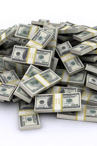 Прикольные и крутые картинки денег для заставки телефона - подборка 1