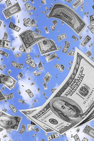 Прикольные и крутые картинки денег для заставки телефона - подборка 10