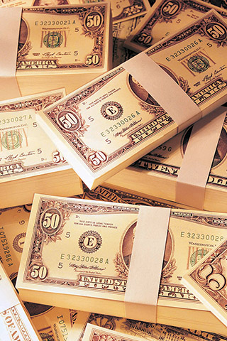 Прикольные и крутые картинки денег для заставки телефона - подборка 14
