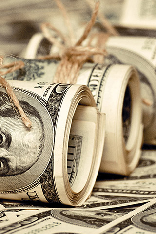 Прикольные и крутые картинки денег для заставки телефона - подборка 7