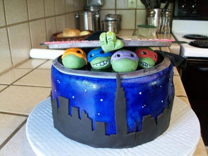 Самые красивые и прикольные фото тортов - самые оригинальные 4